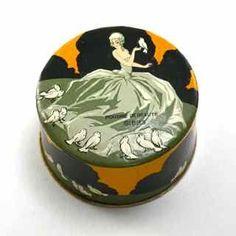 1920s Gibbs, Poudre de Beaute Powder Box