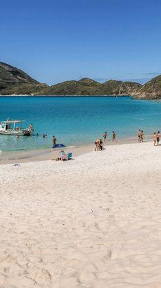 Dicas com as melhores praias para conhecer durante uma viagem a Arraial do Cabo, no Rio de Janeiro. #arraial #arraialdocabo #rj #viagem #dicasdeviagem #turismo