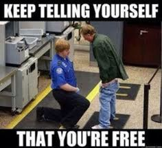 18 Awkward Encounters That Show Us Why Airport Security Is the Absolute Worst Fun First Dates, Police Humor, Airport Security, Demotivational Posters, Bad Timing, Picture Captions, Akita, Funny People, In This World