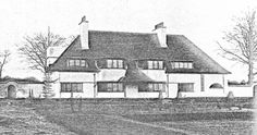 Priors Garth ( later called Priors Field. )1900 Puttenham, near Guildford, Surrey. For F. H. Chambers. 1901-2 converted to 'High Class School for Girls'. Thomas Müntzer, Voysey's pupil, designed extensions to the school in 1904. at Puttenham, Surrey, for F.H. Chambers