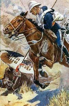 British Lancers vs Zulu Warriors