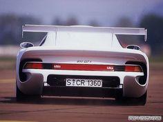 Porsche 911 GT1 Strassenversion Concept (1997)