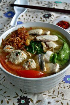 Sliced Fish Yee Mee Soup