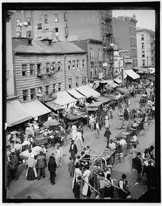 [Jewish market on the East Side, New York, N.Y.]