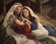 Isaiah 9:6 - For unto us a child is born, unto us a son is given: and the government shall be upon his shoulder: and his name shall be called Wonderful, Counsellor, The mighty God, The everlasting Father, The Prince of Peace.
