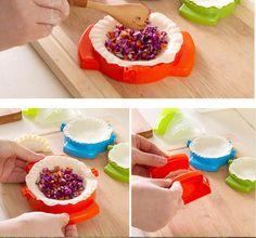 Cozinha ferramenta bolinho Jiaozi dispositivo criador fácil DIY bolinho molde alishoppbrasil