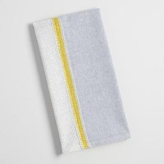 One of my favorite discoveries at WorldMarket.com: Blue Chambray Kitchen Towel