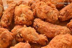 Kuracie krídelká ako z KFC - Recept No Salt Recipes, New Menu, Russian Recipes, Kfc, Food 52, Fried Chicken, Finger Foods, Chicken Wings, Food And Drink