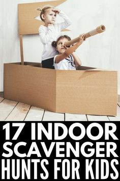 Indoor Birthday Party Games For Toddlers Scavenger Hunts 65 Trendy Ideas Indoor Party Games, Easy Party Games, Toddler Party Games, Birthday Party Games For Kids, Sleepover Games, Spy Party, 21st Party, Birthday Parties, Indoor Games For Toddlers