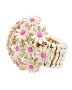 CTR10174-MATTED GOLD PINK