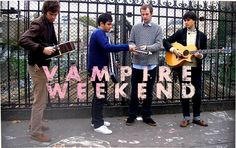 Vampire Weekend.  Have only seen them once (Sasquatch 2010) but it was enough to know that I can't wait to see them again!