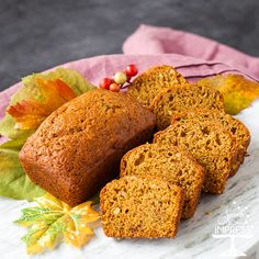 Zuchinni-Pumpkin Bread