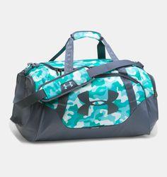 Under Armour Undeniable Duffle Borsa Sportiva - Turchese, Grigio compra online Under Armour Rucksack, Track Bag, Nike Bags, Small Bags, Academia, Sport Outfits, Apollo, Gym Bag, Unisex