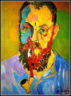 André Derain - Portrait of Matisse - 1905 - Pictify - your social art ...