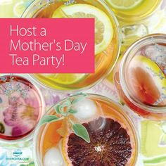 Your mom deserves the very best this Mother's Day and nothing says I love you more than having a tea party for her. What tea would you serve to your mom? Comment on our Facebook page.