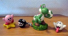 Just Kirby, yoshi, chain chomp and boo. Hope you like 'em