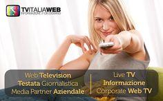 #TVItaliaWeb: #LiveTV #AdvertisingOnline #StartUp #Innovazione. Il #CompanyProfile della #WebTV.