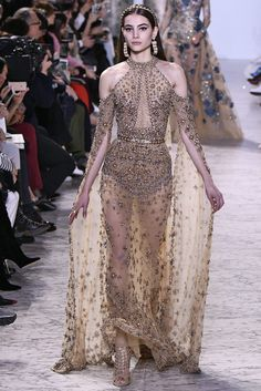 Elie Saab Haute Couture Spring Summer 2017 Paris January 2017