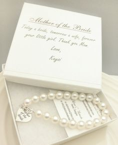 Mother of the Bride Pearl Strand Bracelet by AliChristineBridal, $36.00