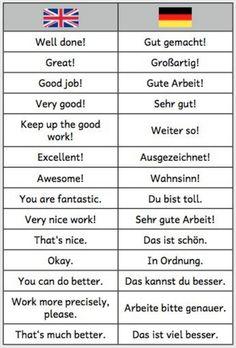 Learn German with us! Study German, German English, Learn English, Learn Spanish, Learn French, German Language Learning, Language Study, Learn A New Language, Spanish Language