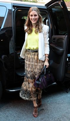 Olivia Palermo - Celebs Arrive at the 'See By Chloe' Event in NYC