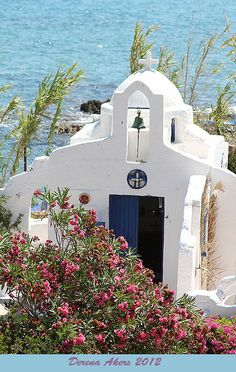 Chapel in Hersonissos, Crete, Greece
