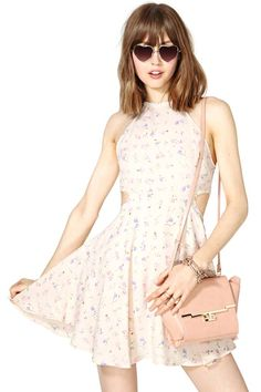 flirty and fun for summer // After Party Vintage First Bloom Dress