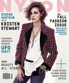 Kristen Stewart en Une de Nylon.