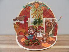 DDBD pop up oval/herfst door Sylvia H.