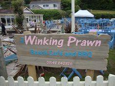 The Winking Prawn in Salcombe, Devon, United Kingdom