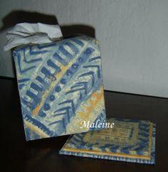 boîte à mouchoirs à socle