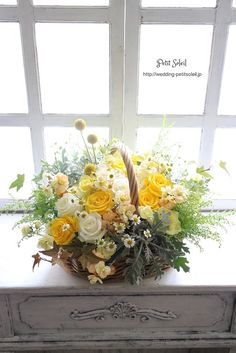 How to Plant Potted Flowers Outdoors in the Soil : Garden Space – Top Soop Basket Flower Arrangements, Flower Arrangement Designs, Silk Floral Arrangements, Artificial Flower Arrangements, Beautiful Flower Arrangements, Artificial Flowers, Flower Designs, Dried Flowers, Silk Flowers