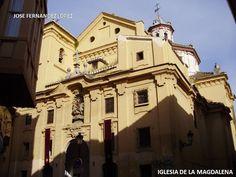 José de la Barrera. Iglesia de la Magdalena de Granada (1677)