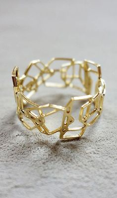 Composition Ring Architectural jewelry