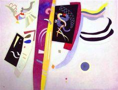 Orange-Violet -  Wassily Kandinsky
