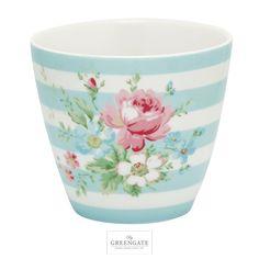 Greengate latte cup Marie pale blue SS16