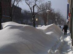 Un-shoveled or plowe