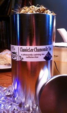 Organic Herbal Teas - Premium Whole Bud Chamomile Tea 2oz by LeesTeas, $10.00