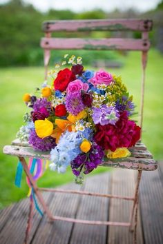 Generic Gold Sequins Satin Wedding Flower Girl Basket and Ring Pillow Set - Ideal Wedding Ideas Bright Wedding Flowers, Vintage Wedding Flowers, Bridal Flowers, Purple Wedding, Colorful Flowers, Beautiful Flowers, Bright Weddings, Colorful Weddings, Flowers Uk