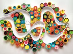 Paperquilling colourful  Cutedesigntr