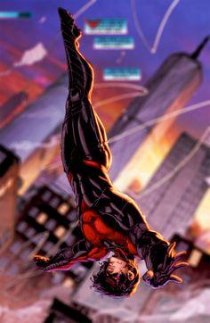 DC-COMIC - Nightwing/ Ala Nocturna(Dick_Grayson) - THE NEW TEEN TITANS (1980)/ OUTSIDERS/ JUSTICE LEAGUE/ BATMAN INC/ BATMAN FAMILY