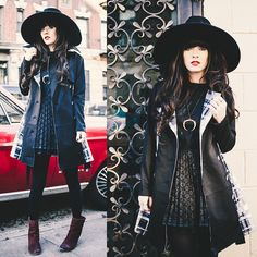 - Tap the link now to see our super collection of accessories made just for you! Modern Witch Fashion, Dark Fashion, Gothic Fashion, Winter Fashion, Hipster Grunge, Grunge Style, Tokyo Street Fashion, Cool Outfits, Casual Outfits