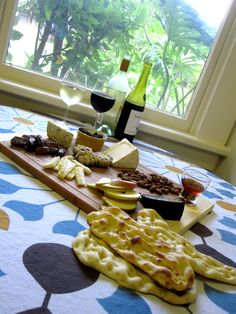 my first cheese platter sustenance Cheese Platters, Fruit Platters, Wine O Clock, Best Dishes, Charcuterie, Menu, Yummy Food, Recipes, Fruit Trays