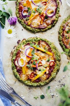 Gluten free Broccoli Pizza / Glutenfri & Vegetarisk Broccolipizza - Evelinas Ekologiska
