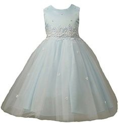 New Cinderella Tulle Flower Girl Pageant Dress (5 Colors Available) 2 to 12 Girls $44.99