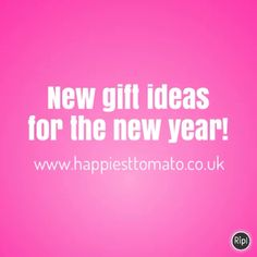 New gift ideas for the new year http://www.happiesttomato.co.uk/  #gift #present