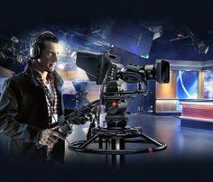 世界最大のビューファインダーに対応した世界最小の放送用カメラ! live production illustration with the Blackmagic Studio Camera