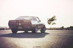 Photoshooting of a Original Shelby GT500E
