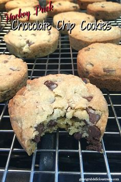 http://bestkitchenequipmentreviews.com/pressure-cooker/ Hockey Puck Chocolate Chip Cookies
