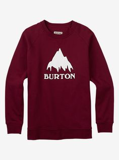 Shop the Men's Burton Classic Mountain Crew along with more Hoodies & Sweatshirts from Fall 16 at Burton.com